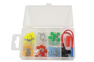 Connect 37159 63 Piece Micro 2 Blade Fuse Assorted Box